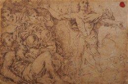Aurelio Luini [attribuito a] (1530 - 1592) L'USCITA DI