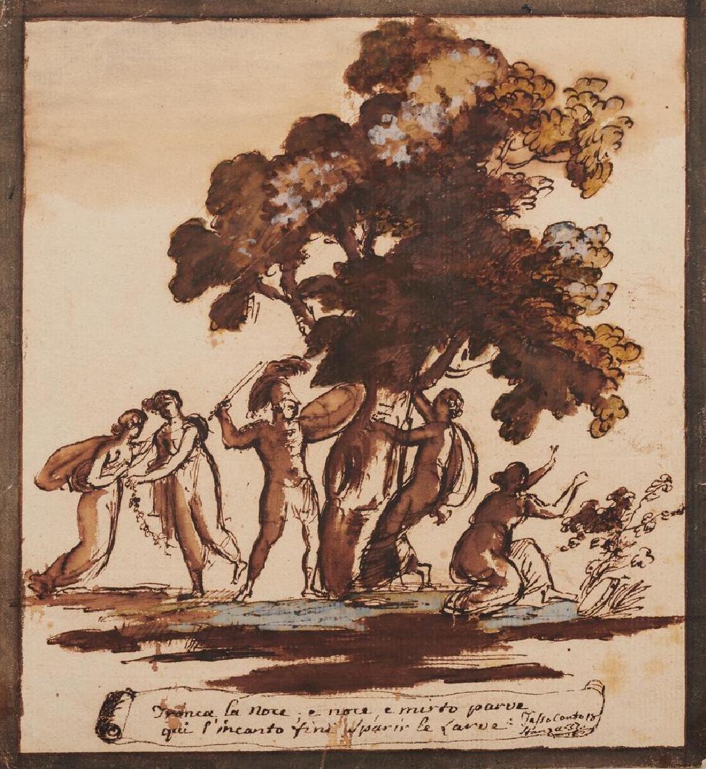 Giuseppe Bossi [attribuito a] (1777 - 1815) SCENA DA