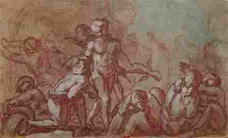 Bartholomaus Spranger [attribuito a] (1546 - 1611)
