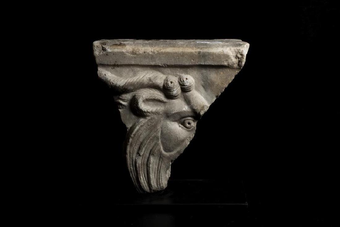 TRAPEZOFORO  DATAZIONE: II-III sec. d. C. MATERIA E