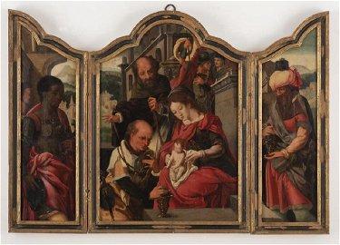 Scuola di Anversa della seconda metà del XVI Secolo