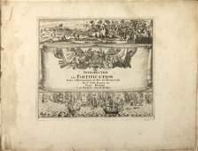 Nicolas de Fer (1646 - 1720) Les forces de l' Europe,