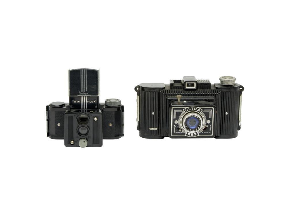 Lotto di due macchine fotografiche 1. Universal