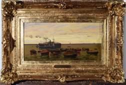 LUIGI PAOLILLO (1864-1934) Marine
