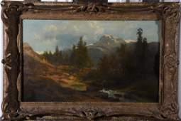 GERMAN SCHOOL XIX Landscape