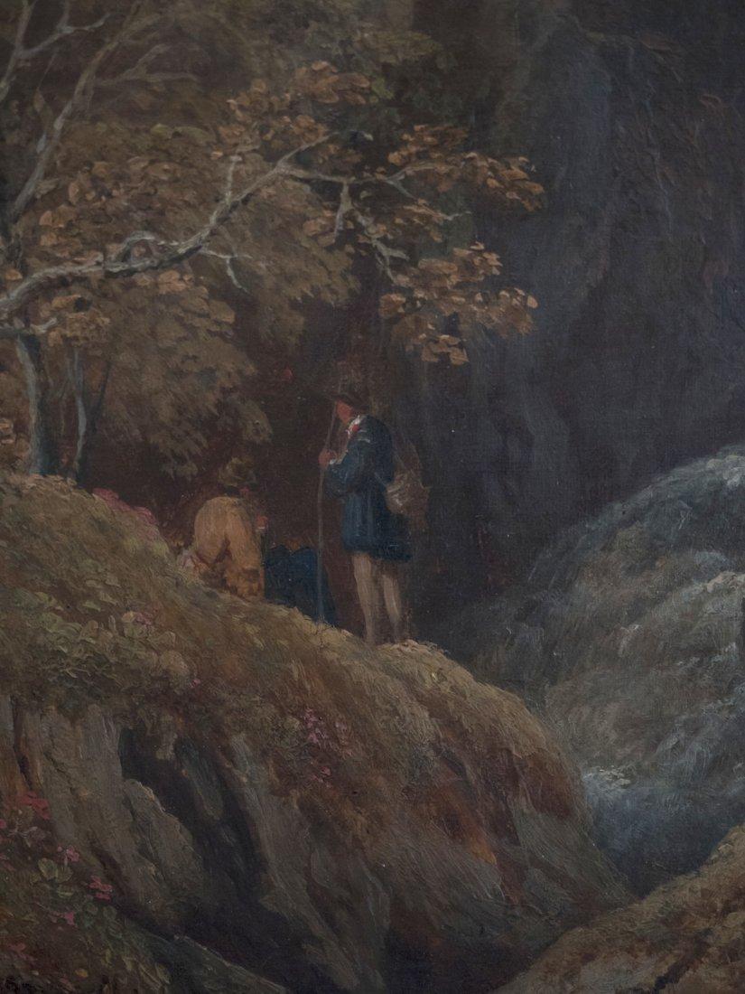 MONOGRAM CARL SPITZWEG (1808-1885)In the Alpine Valley - 3