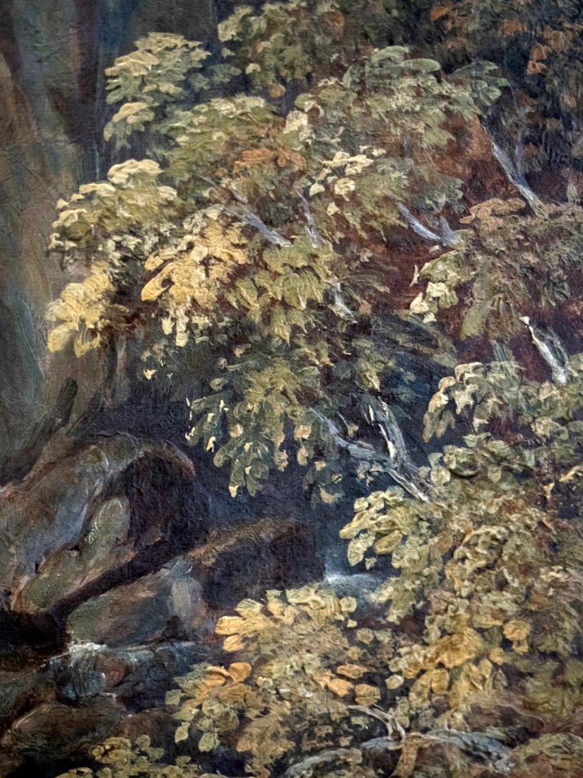 MONOGRAM CARL SPITZWEG (1808-1885)In the Alpine Valley - 4