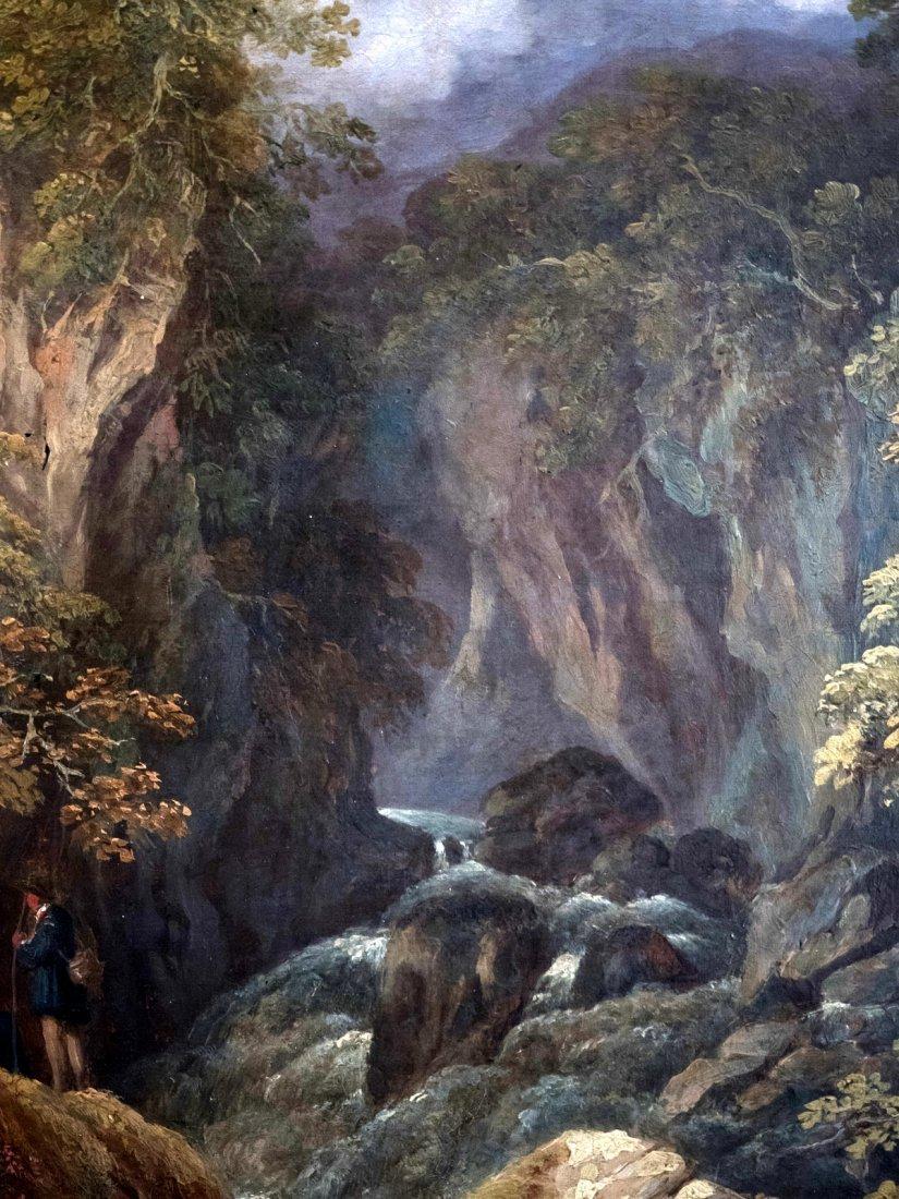 MONOGRAM CARL SPITZWEG (1808-1885)In the Alpine Valley - 7