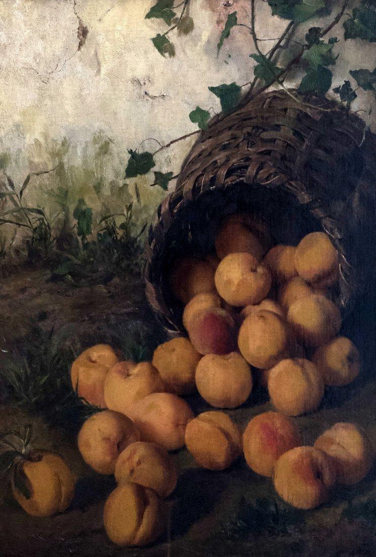 ANGELO MARTINETTI (XIX-XX) Peaches