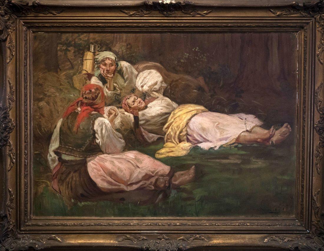 WINCENTLY WODZINOWSKI (1866-1940) Rest