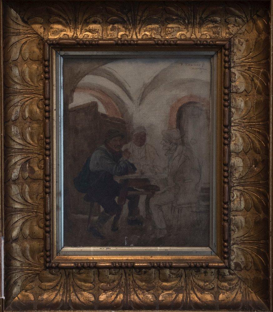 Peter Kraemer (1823-1907) Work in progress