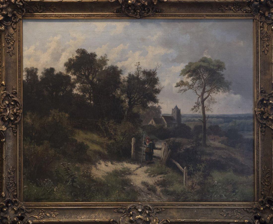 ARTHUR GILBERT (1819-1895) OUTSIDE EWHURT