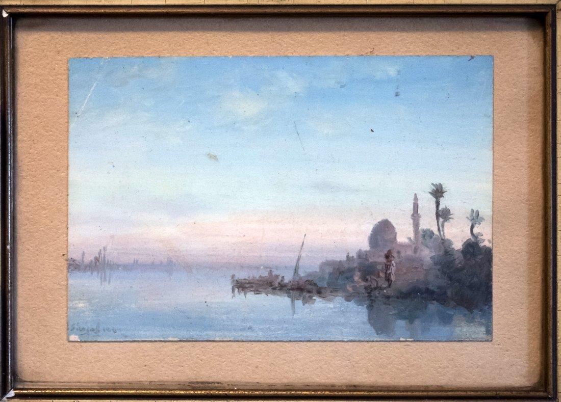 PAUL PASCAL (1839-1905) Arab Scene