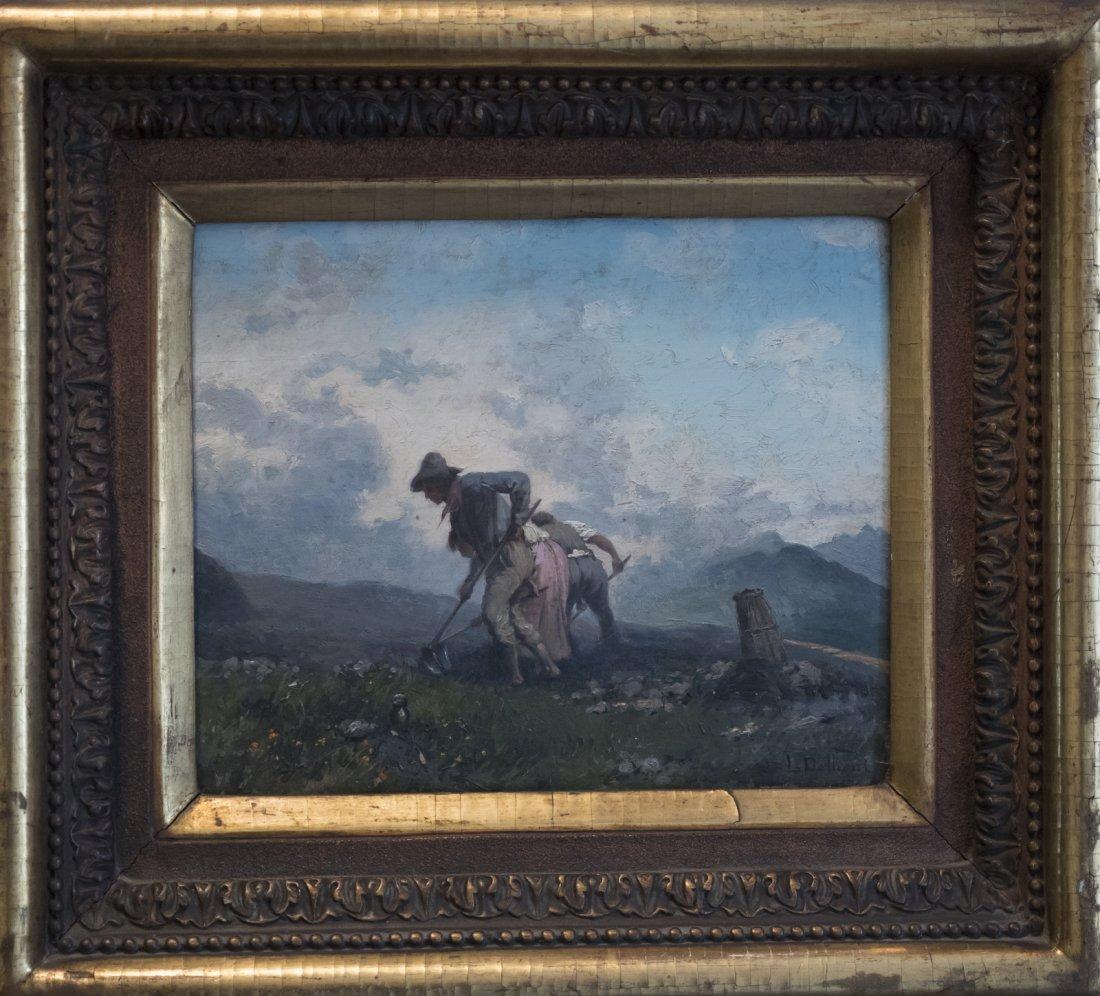 LORENZO DELLEANI (1840-1908) LABOUR