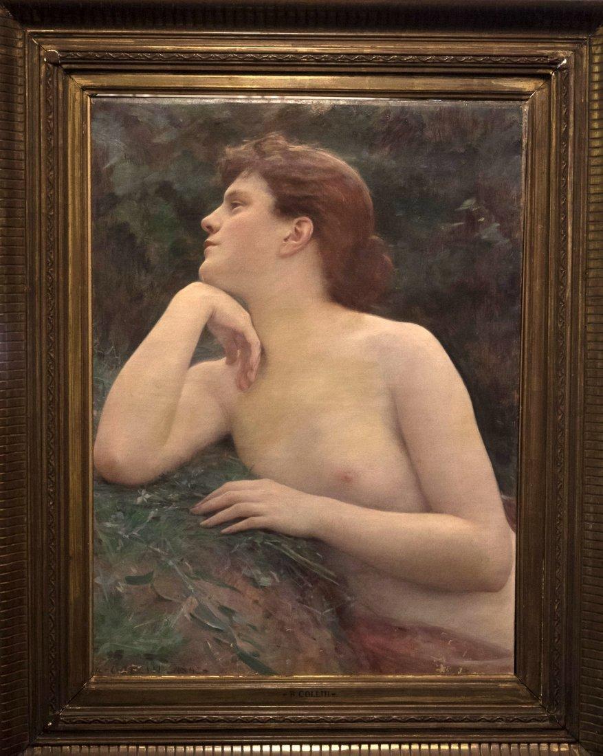 LOUIS RAPHÄEL COLLIN (1850-1916) Buste de Jeune Fille