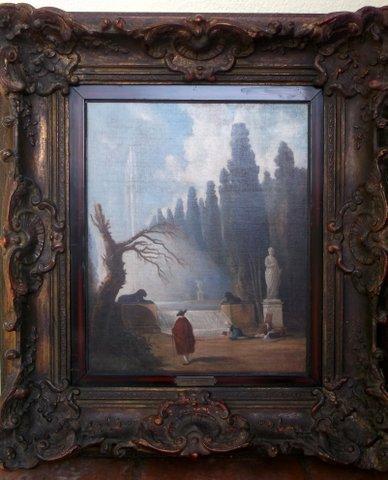 ATTRIBUTED HUBERT ROBERT (1733-1808)La Fontaine