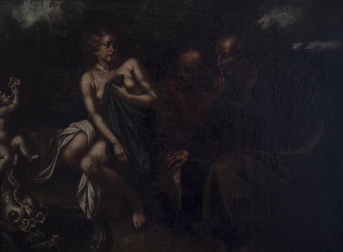 Roman School. Susana and the Elders