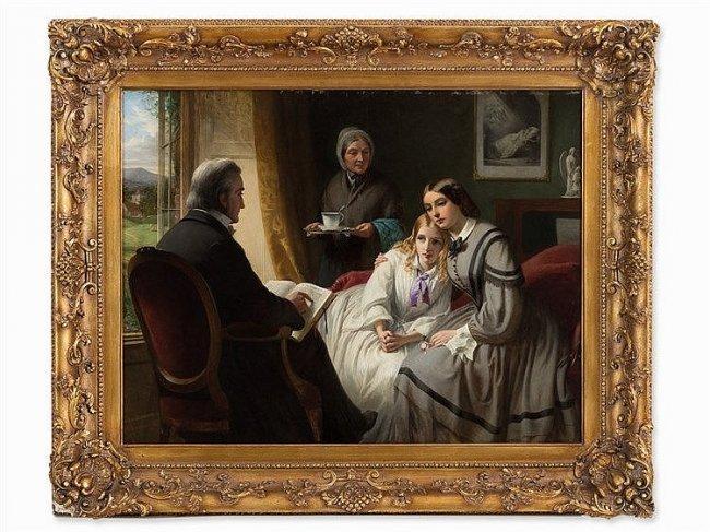 THOMAS BROOKS (1818- 1891) The Reading