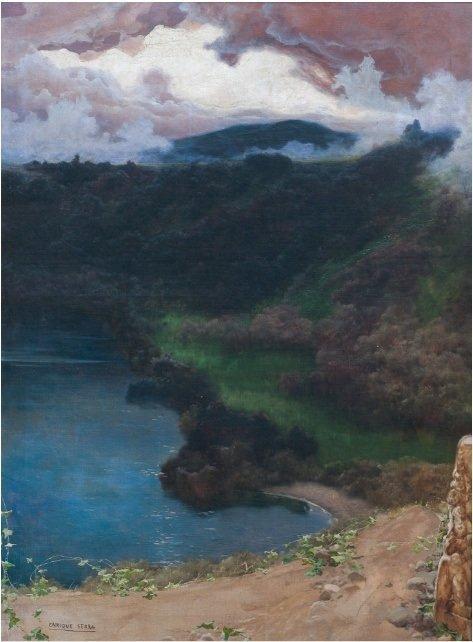 ENRIQUE SERRA Y AUQUE (1859-1918) Crisalidas