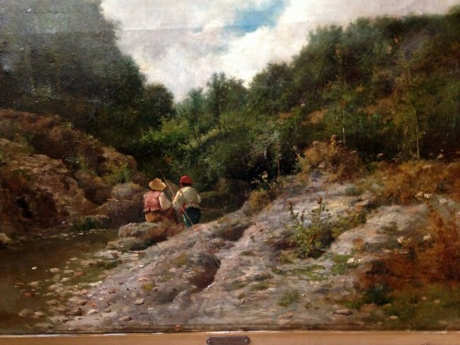 FRANCESCO CAPUANO (1854-1908) FISHING