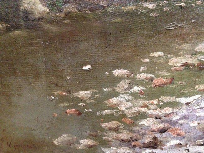 FRANCESCO CAPUANO (1854-1908) FISHING - 6