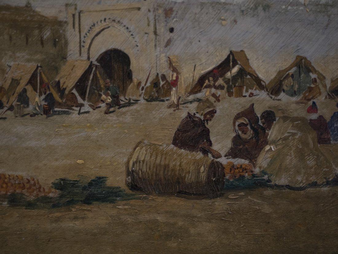 EMILIO SIVILLA TORRES (1845-1894) Arab Market - 3