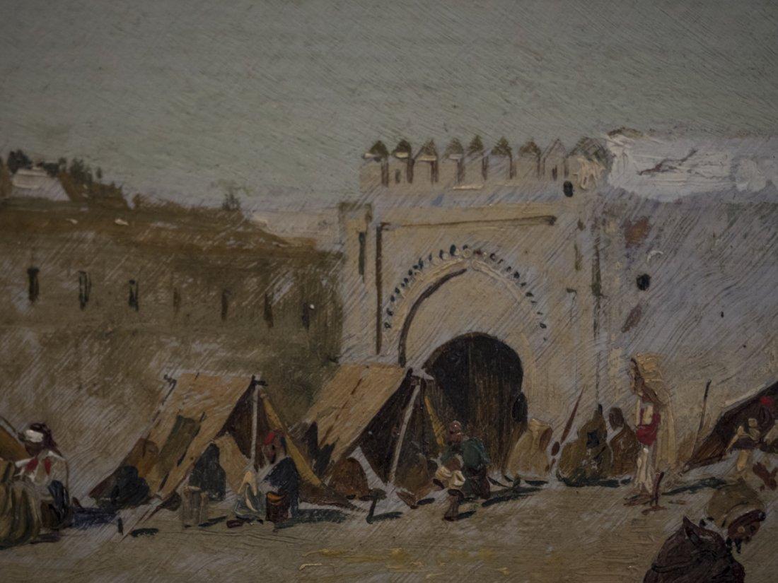 EMILIO SIVILLA TORRES (1845-1894) Arab Market - 4