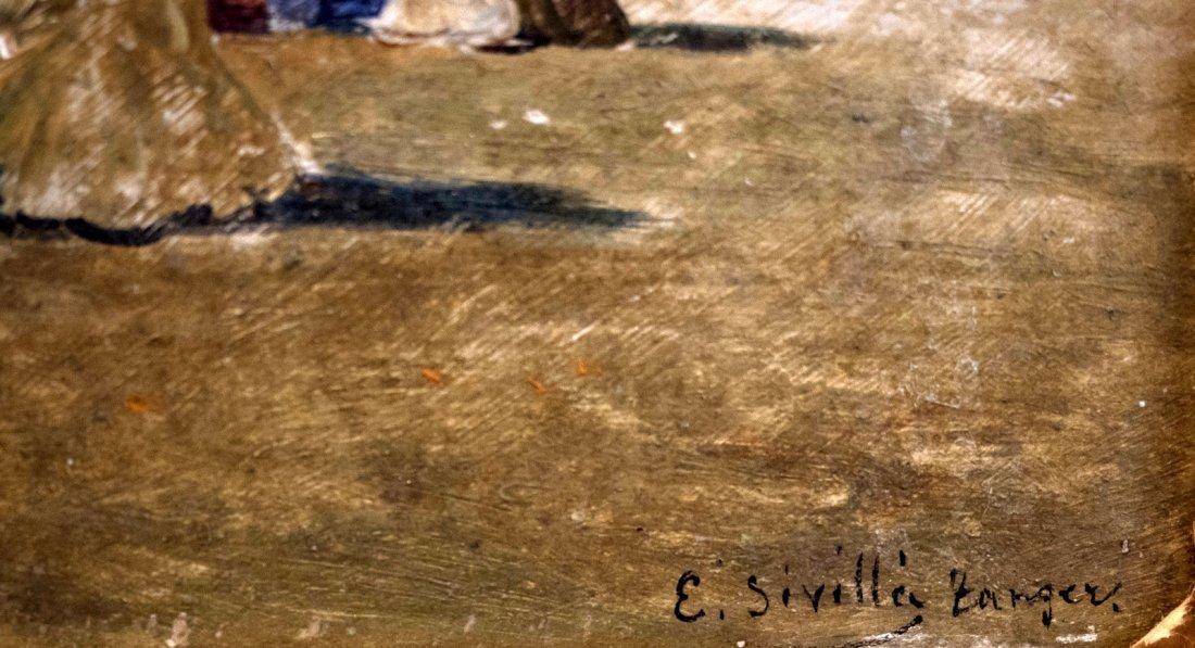 EMILIO SIVILLA TORRES (1845-1894) Arab Market - 5