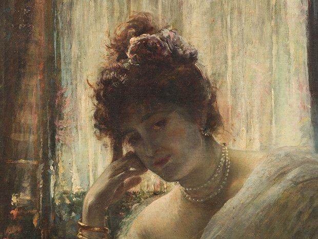 ÉDOUARD RICHTER(1844-1913) Female Portrait - 3