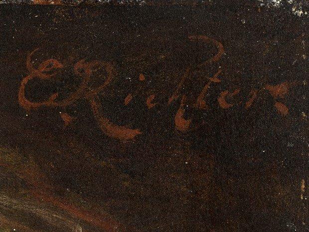 ÉDOUARD RICHTER(1844-1913) Female Portrait - 4