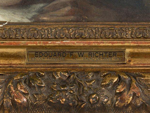 ÉDOUARD RICHTER(1844-1913) Female Portrait - 5