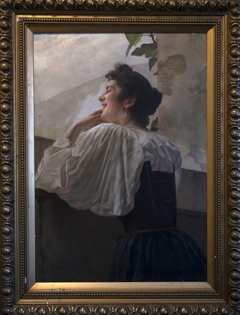 ANGIOLO LEMMI (XIX-XX) Signora