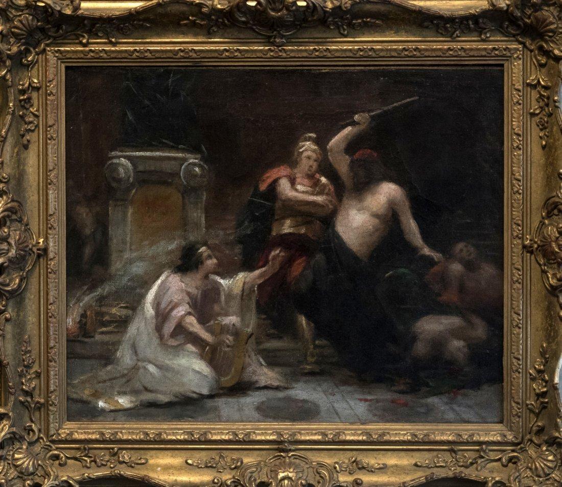 CIRCLE DELACROIX (XIX) Roman school