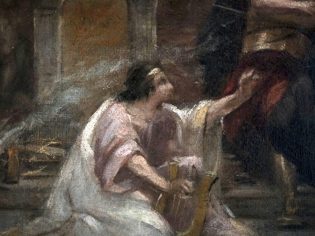 CIRCLE DELACROIX (XIX) Roman school - 2