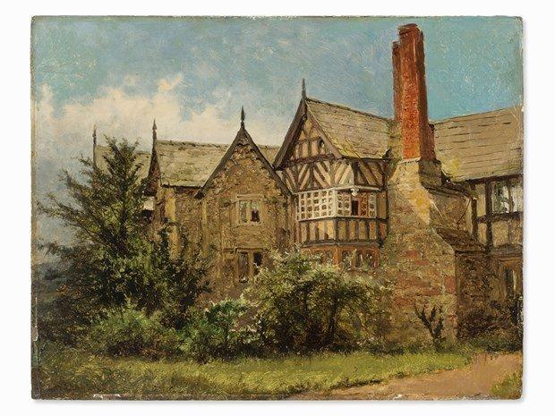 BENJAMIN WILLIAM LEADER(1831-1923), Old Cottage - 2