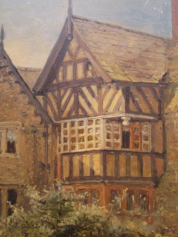 BENJAMIN WILLIAM LEADER(1831-1923), Old Cottage - 4
