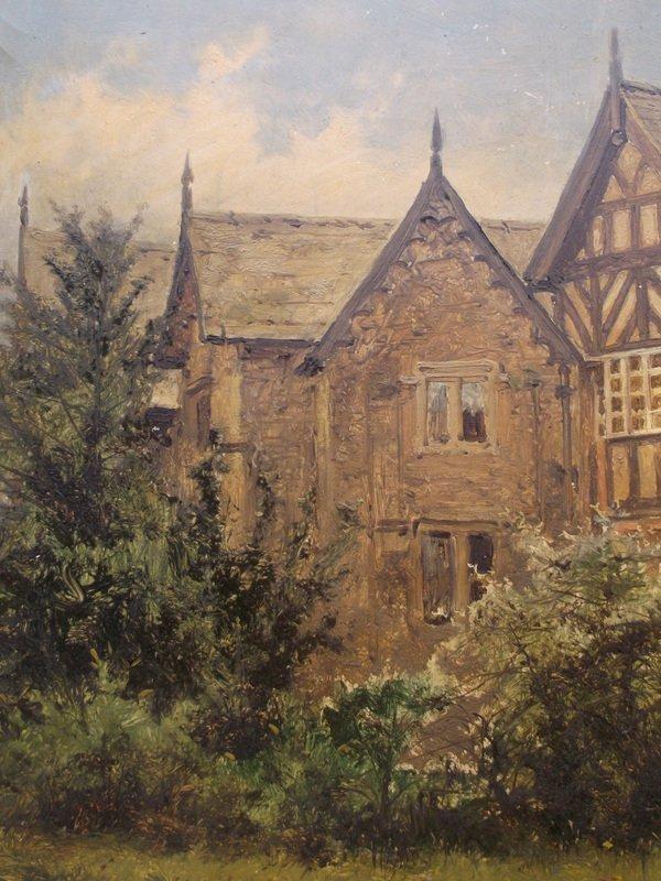BENJAMIN WILLIAM LEADER(1831-1923), Old Cottage - 5