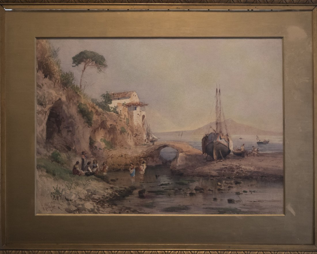 ALESSANDRO LA VOLPE (1820-1887) Vita costiera Amalfitan