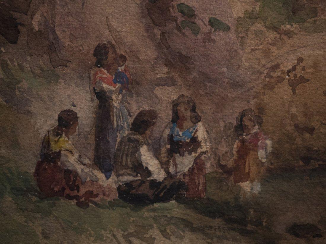 ALESSANDRO LA VOLPE (1820-1887) Vita costiera Amalfitan - 7