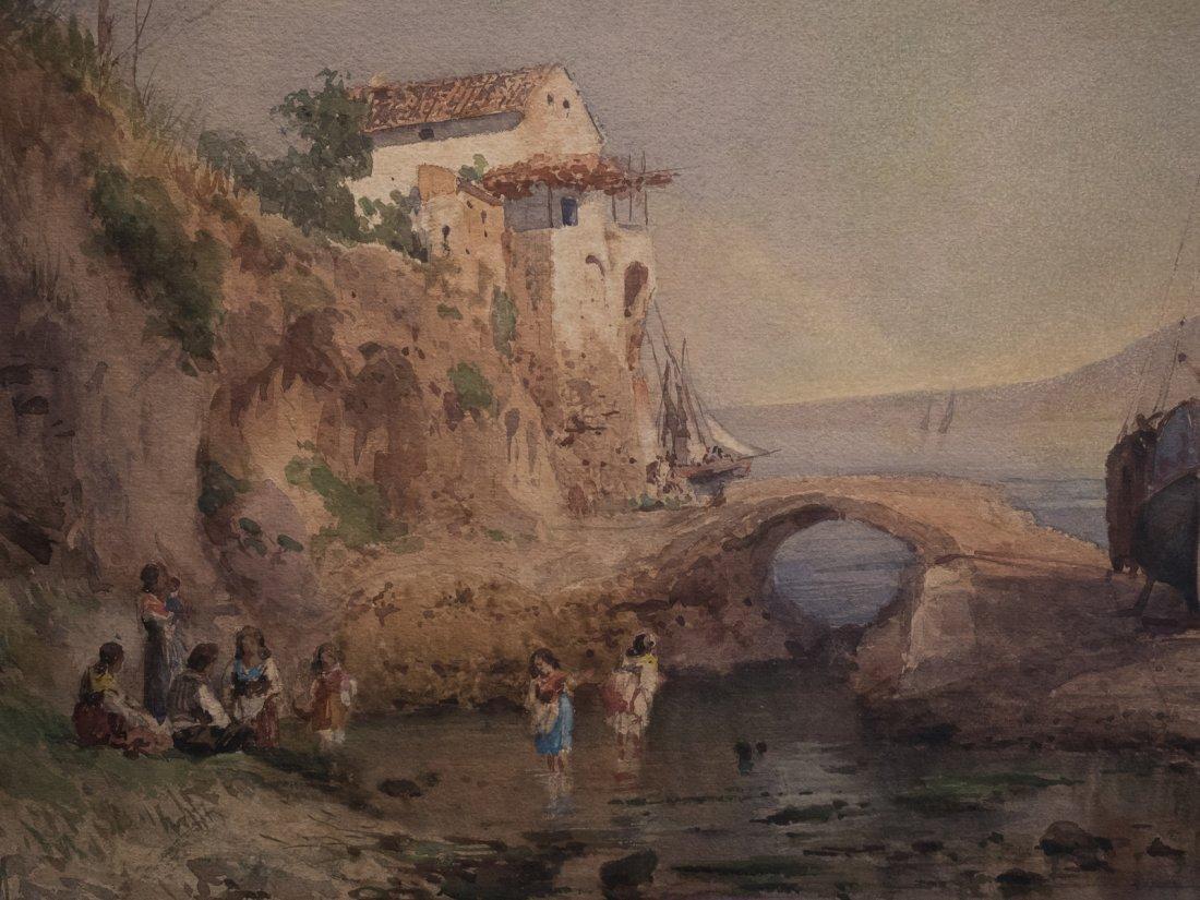 ALESSANDRO LA VOLPE (1820-1887) Vita costiera Amalfitan - 8