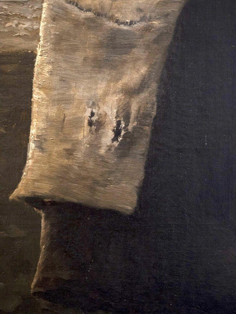 """GEORGES JEAN MARIE HAQUETTE (1854-1906) """"Le Depart """" - 8"""