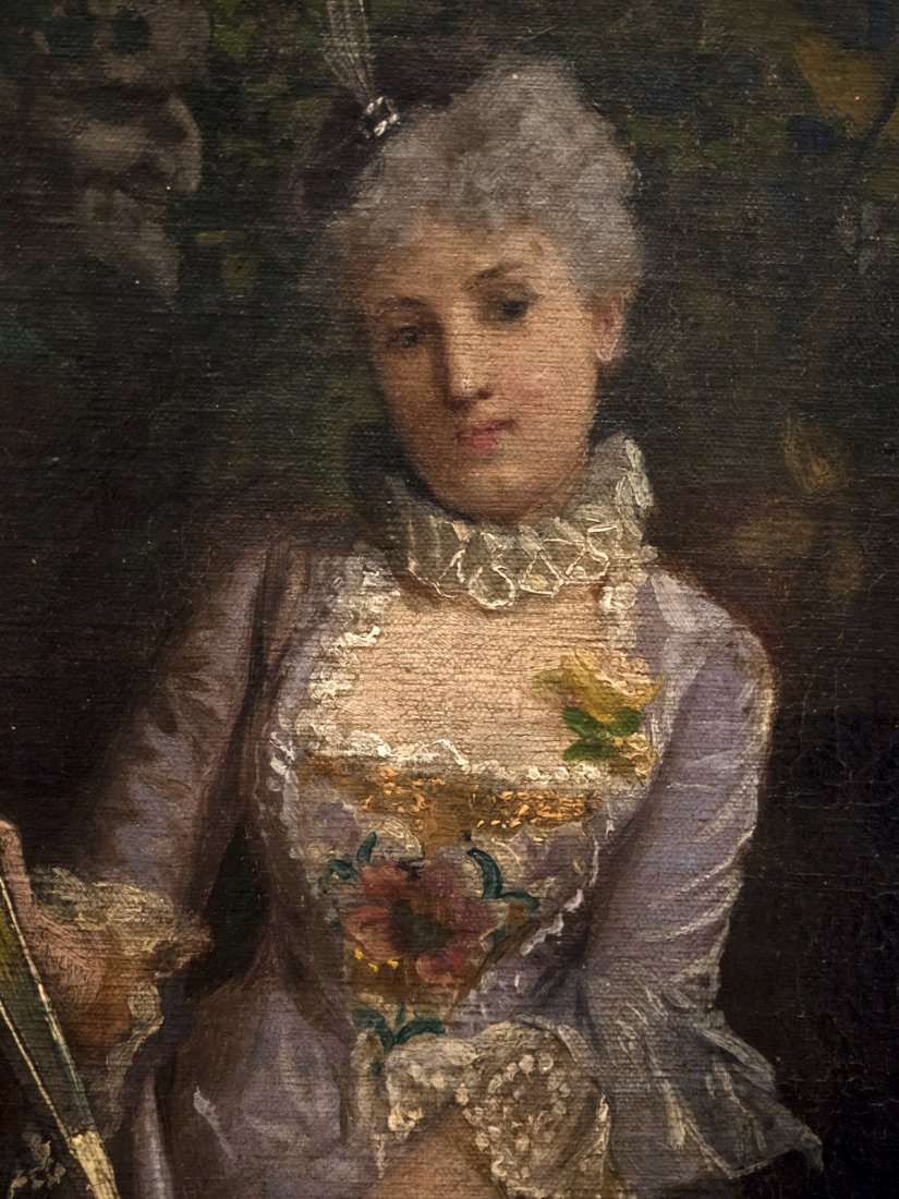 GIACOMO MANTEGAZZA (1853-1920) Scena Galante - 4