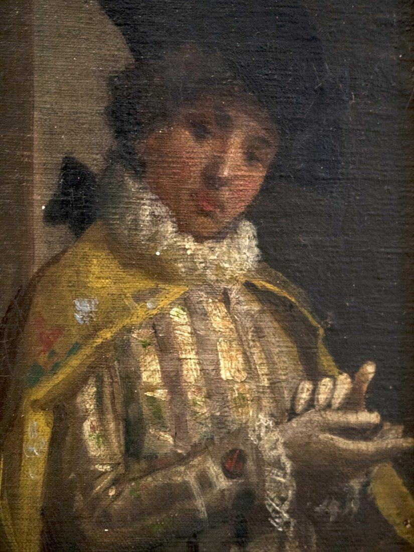 GIACOMO MANTEGAZZA (1853-1920) Scena Galante - 6