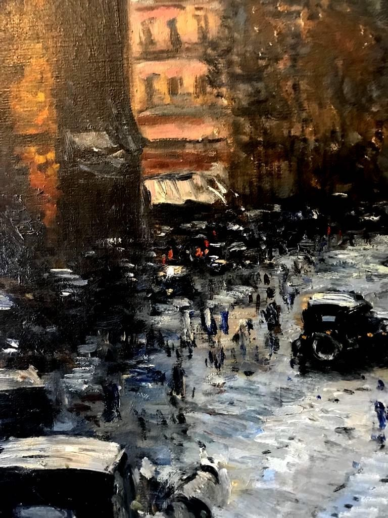 RUIZ PIZARRO (XIX) Winter in Paris - 4