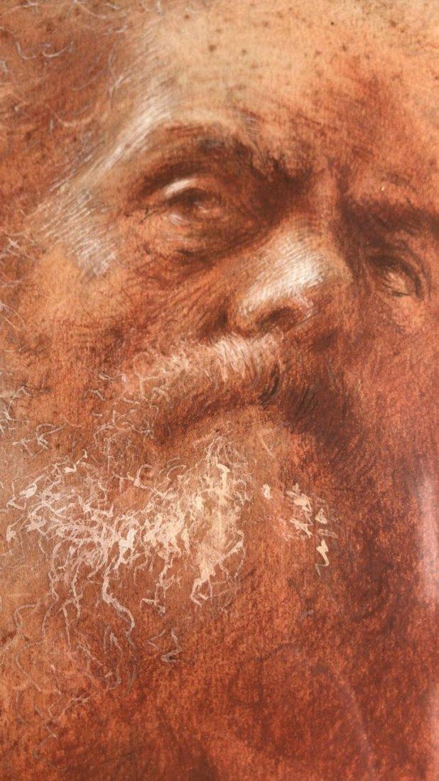 ITALIAN ILLEGIBLE. Old Man Portrait - 6