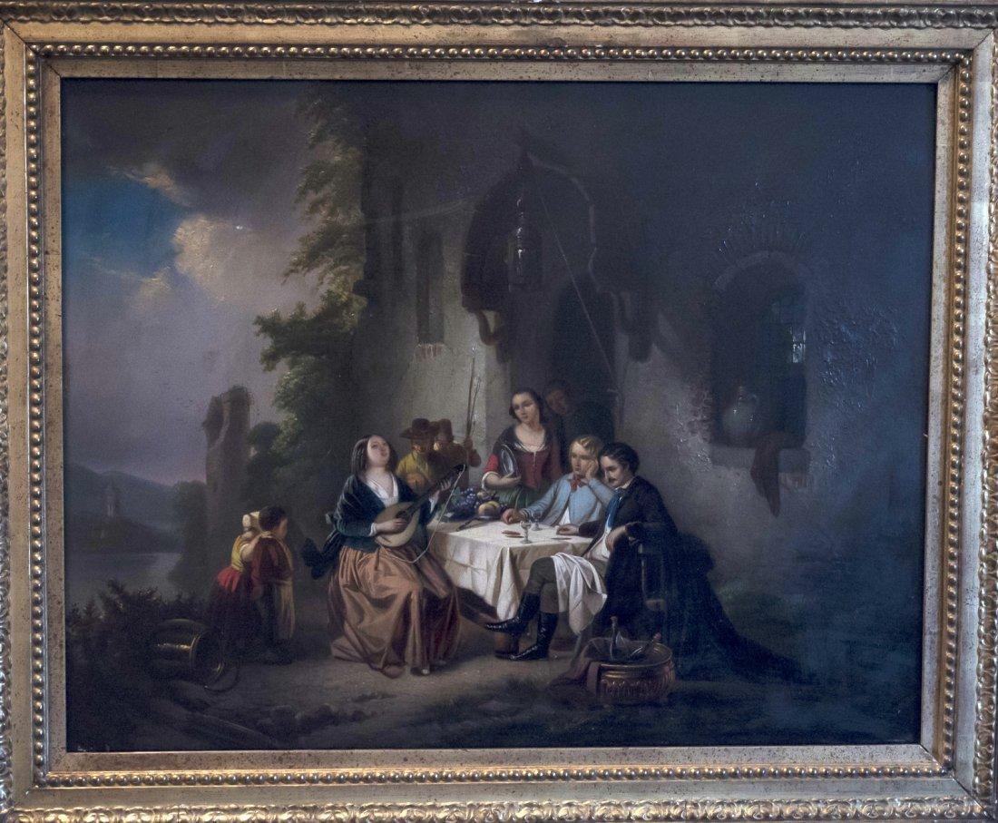 XIXth GERMAN Interior Scene - 3