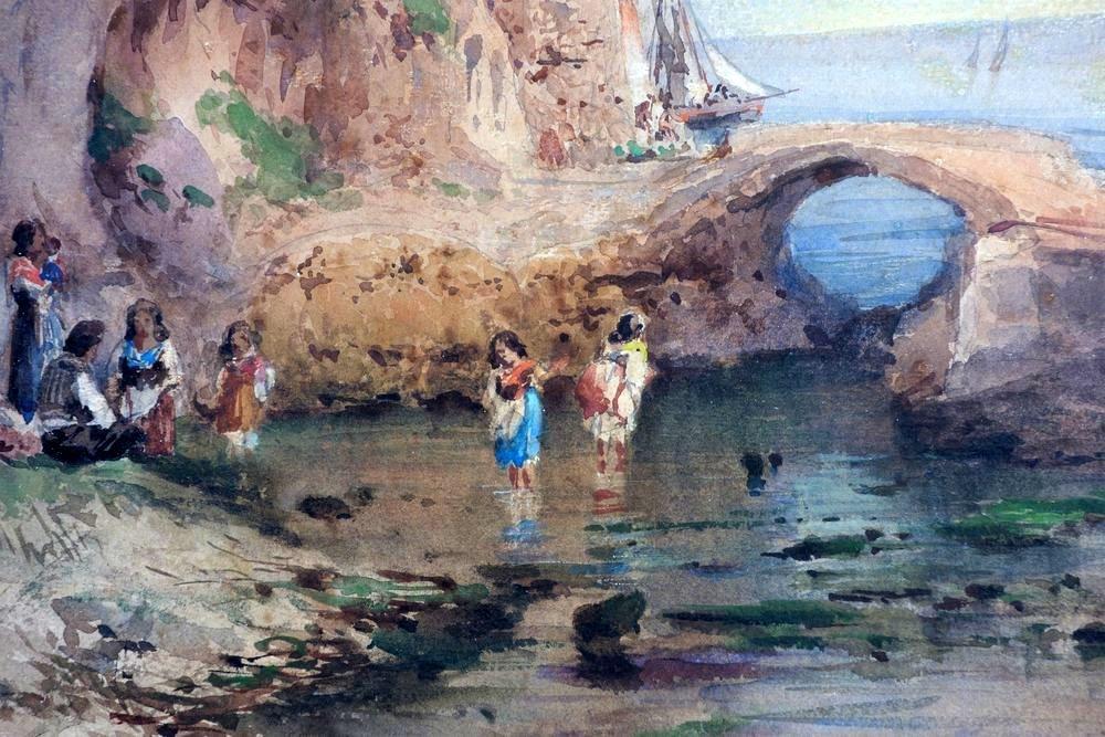 ALESSANDRO LA VOLPE (1820-1887) Vita costiera Amalfitan - 3