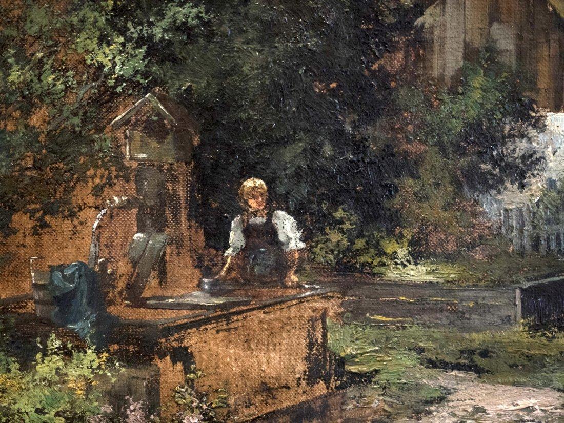 GERHRDUS J.ROERMEESTER (1844-1936) Cottage in mountain - 2