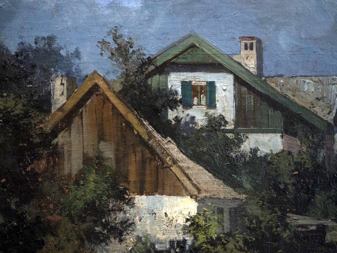 GERHRDUS J.ROERMEESTER (1844-1936) Cottage in mountain - 3