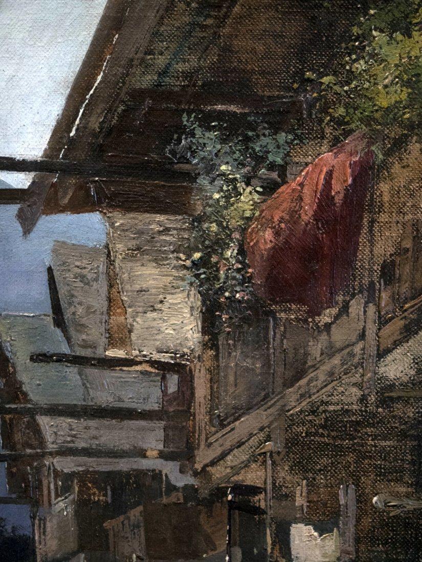 GERHRDUS J.ROERMEESTER (1844-1936) Cottage in mountain - 4